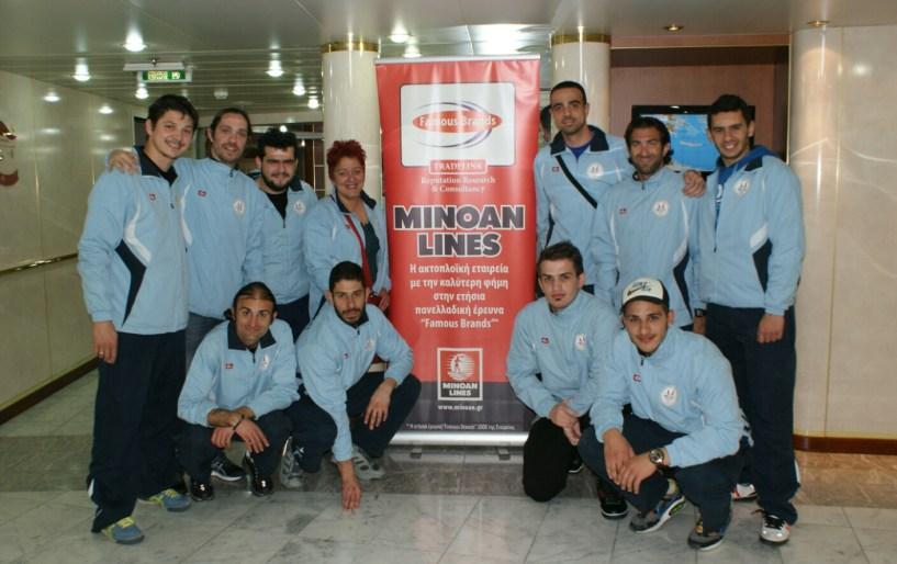 Με ελπίδες για μία καλή πορεία ο Αθλητικός Συλλόγος Κωφών Κρήτης «Μίνωας»