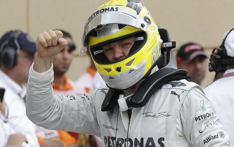 Pole Position στον Rosberg
