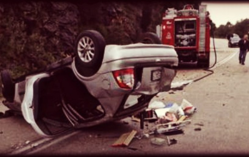 Ένα ακόμα τραγικό τροχαίο δυστύχημα