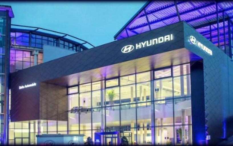Αντιπροσωπεία Hyundai εντυπωσιακών διαστάσεων