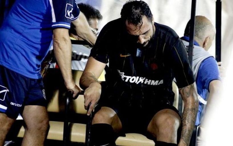 Αγωνία στην ΑΕΚ με τον τραυματισμό του Αλμέιδα