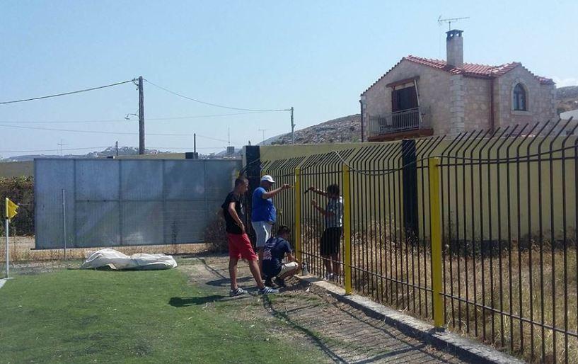 Εικόνες από τις εργασίες στο γήπεδο της ΑΕΚ