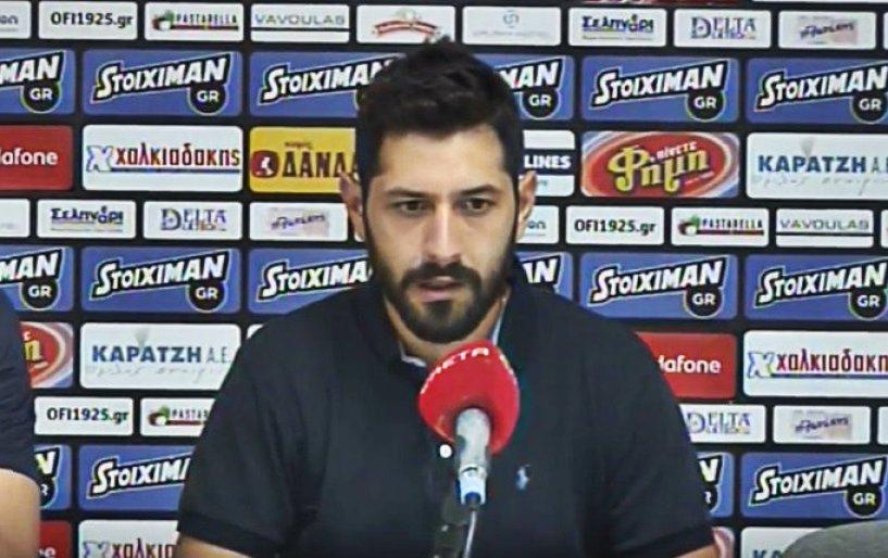 Πετράκης: «Θέλουμε να είμαστε έτοιμοι στην έναρξη»