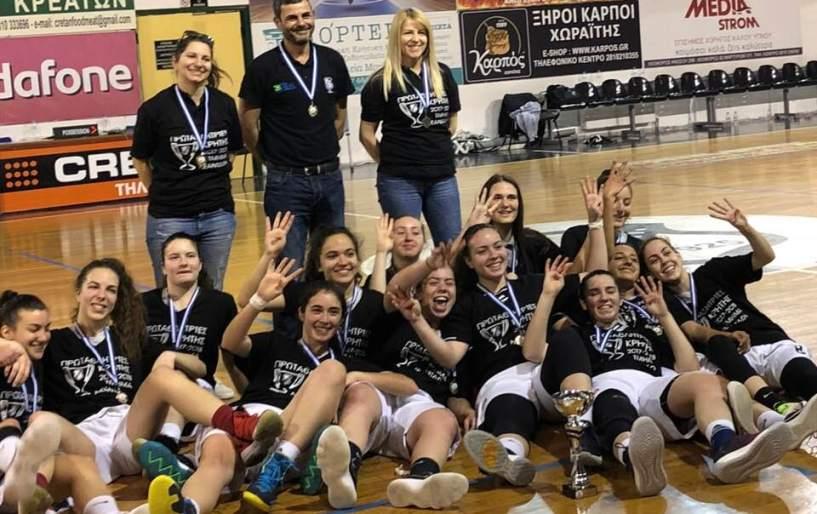 Πρωταθλήτριες Κρήτης και επίσημα οι Νεάνιδες του ΟΦΗ