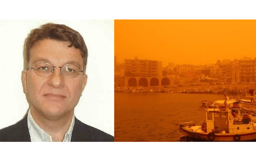 Πέτρος Κουτράκης,Ph.D Harvard: «Οι θύελλες σκόνης είναι επικίνδυνες για την ανθρώπινη υγεία»