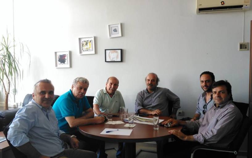 Σημαντική συνάντηση στο ΤΕΙ για το ενωσιακό γήπεδο ΕΠΣΗ