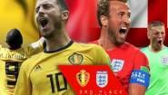 """Για την Τρίτη θέση «κοντράρεται"""" η Αγγλία με το Βέλγιο"""