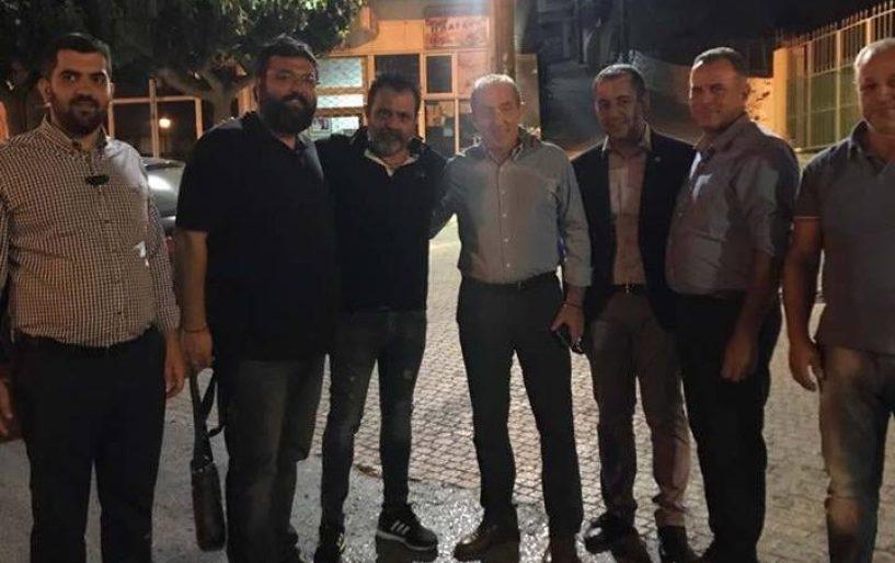 Στον Κρουσώνα ο Υφυπουργός Αθλητισμού Γ. Βασιλειάδης