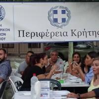 Ζεστή φιλοξενία στις κληρώσεις της ΕΠΣΗ στην Αυγενική