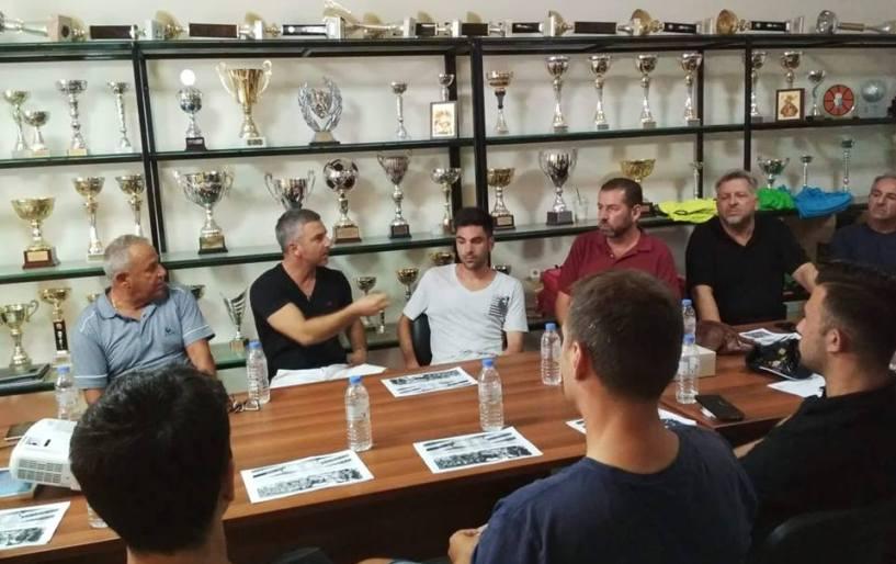 Συνάντηση προπονητών στον Εργοτέλη