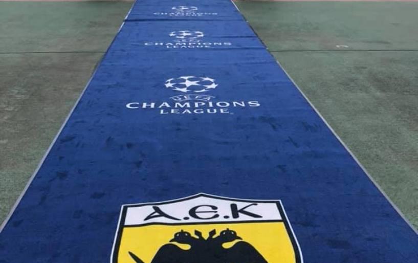 H ΑΕΚ παίζει τα ρέστα της υποδεχόμενη την Μπενφίκα