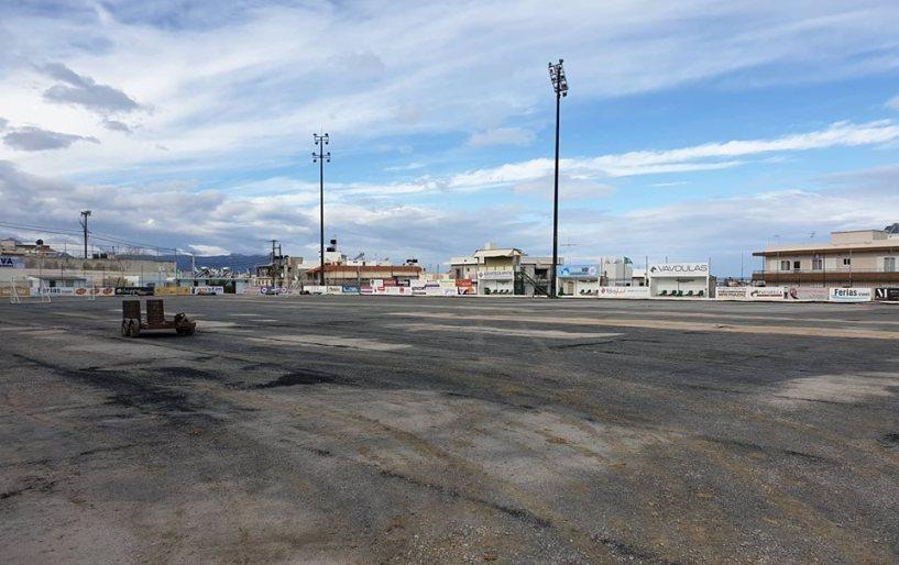 Pics | Με ταχείς ρυθμούς προχωρούν τα έργα στο  Ατσαλένιο