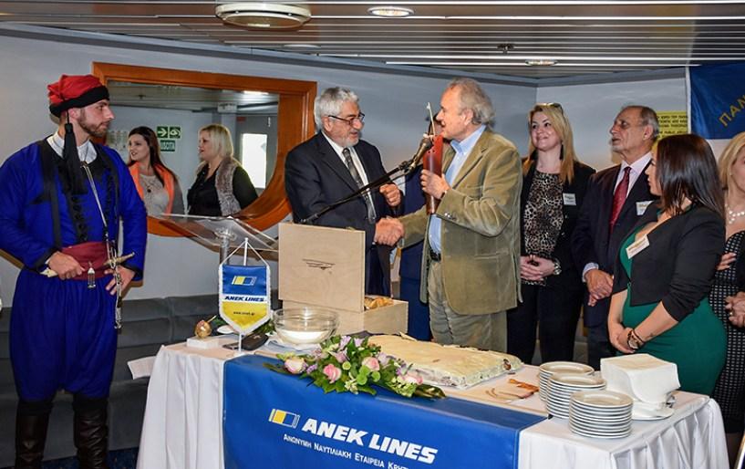 Στην ΑΝΕΚ LINES η μεγάλη εκδήλωση της Πανελλήνιας Ομοσπονδίας Κρητικών Σωματείων