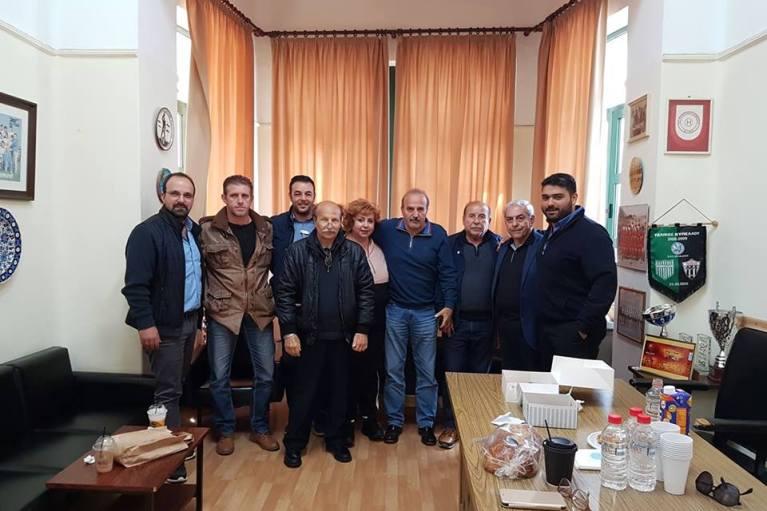 Σύσκεψη με τους εκπροσώπους των φιναλίστ του Κυπέλλου ΕΠΣΗ