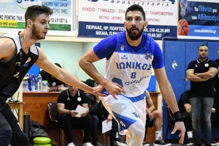 Με τον Ιωνικό Νίκαιας στην Basket League ο Μπατής
