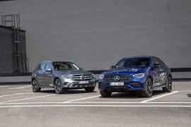 Mercedes-Benz GLC και GLC Coupe: Ζωτικός χώρος