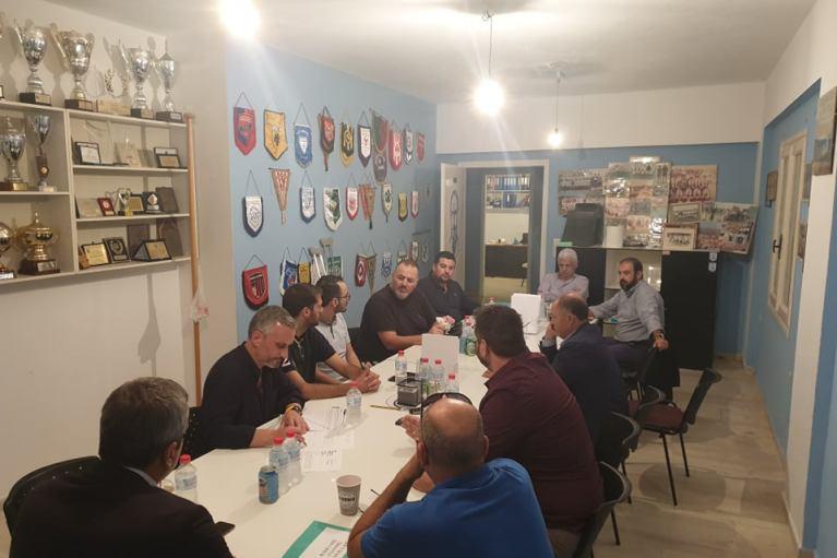 Eποικοδομητική Σύσκεψη για το στέγαστρο του Γηπέδου της Ν. Αλικαρνασού