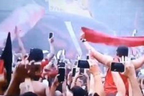 Εντυπωσιακό ξεπροβόδισμα της Φλαμένγκο πριν τον τελικό του Λιμπερταδόρες