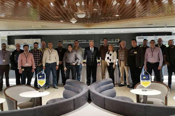 Επιτυχημένο το Workshop2 του Προγράμματος PALAEMON στα πλοία ΚΡΗΤΗ ΙΙ και ΕΛ.ΒΕΝΙΖΕΛΟΣ της ΑΝΕΚ LINES
