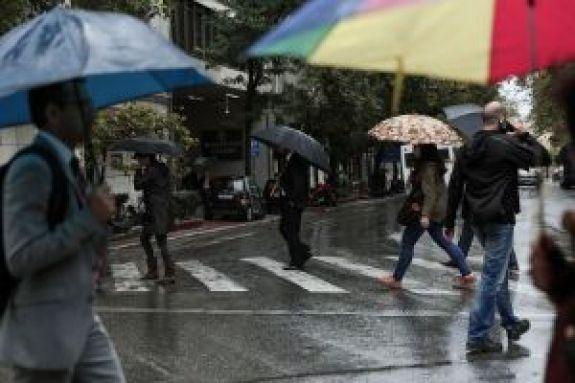 Κακοκαιρία «Ετεοκλής»: Ισχυρές βροχοπτώσεις και στην Αττική