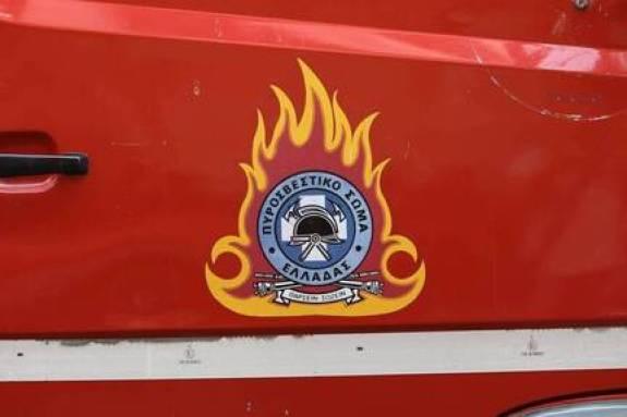 Πυρκαγιά σε αποθήκη στην Ιεράπετρα