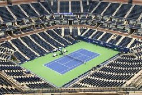 Το γήπεδο του US Open μετατρέπεται σε νοσοκομείο