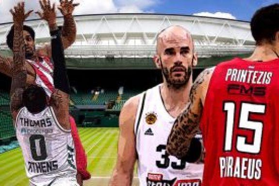 Οι μπασκετμπολίστες θα κάνουν «σημαία» το Γουίμπλεντον