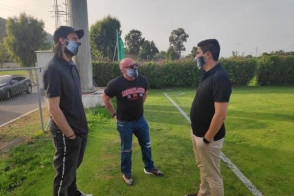 Στο Υφυπουργείο Αθλητισμού ο Πουρσανίδης – Συνάντηση με Αυγενάκη