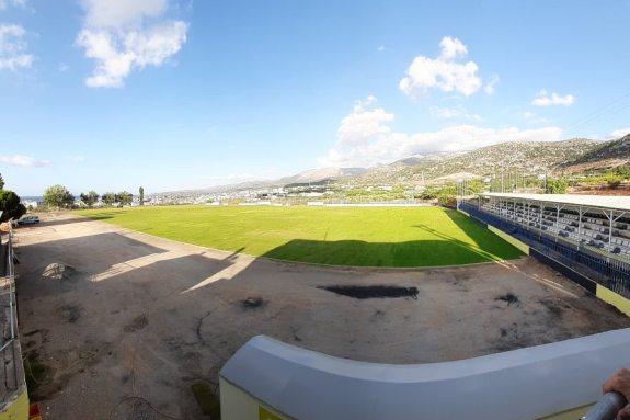 Έρχονται και άλλες εργασίες στο γήπεδο του ΠΑΝΟΜ