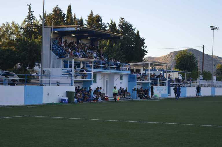 Εικόνα αποτρεπτική εν μέσω πανδημίας στο γήπεδο της Δαμάστας!