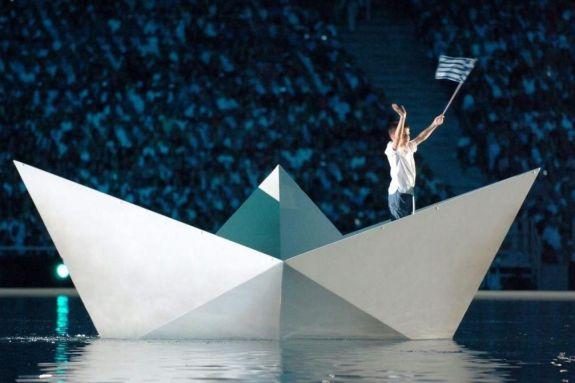 13 Αυγούστου 2004: Η μεγαλειώδης τελετή έναρξης των Ολυμπιακών Αγώνων της Αθήνας