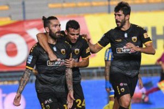 Παναιτωλικός – ΑΕΚ 0-2 : Λαμπάδα στον Μάνταλο και τον Τσιντώτα!