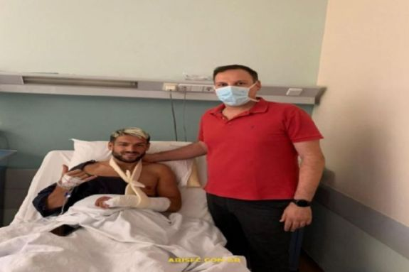 Άρης: Πετυχημένη η χειρουργική επέμβαση στον Σάκιτς