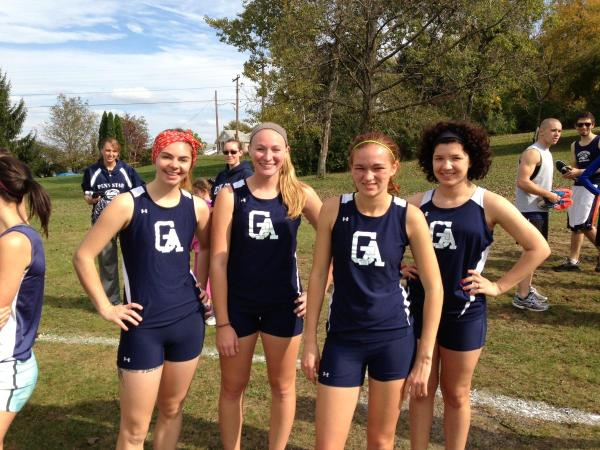 Men and Women Cross Country Runners Compete in PSUAC ...