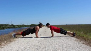 Bodyweight Partner Workout Calisthenics Edition