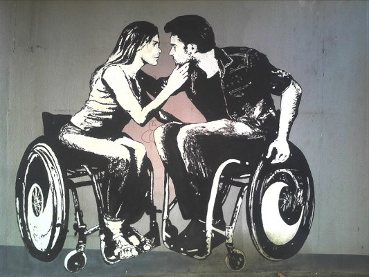 graffiti-wheel-chair