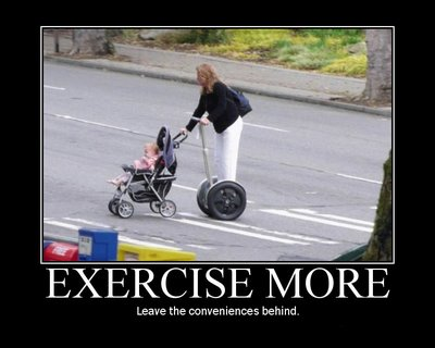 exercise more