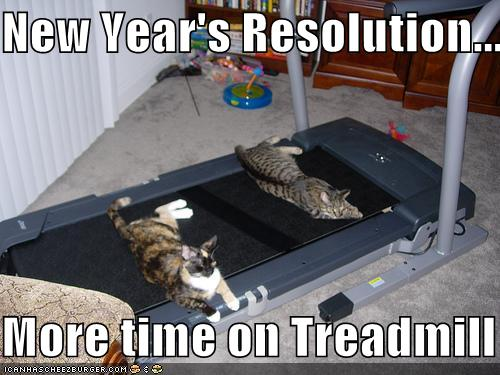 more time on treadmill