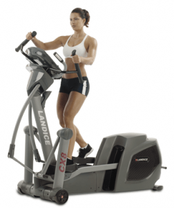 At Home Fitness has the Landice CX8 Elliptical Machine price slashed to just $2,195 from a retail of $3,995.
