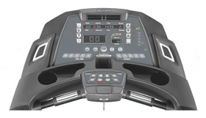 The 3G Cardio Elite Runner Treadmill electronics board. It can be upgraded using your iPad.
