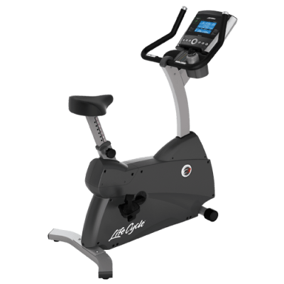 Life Fitness C3 Lifecycle Bike with Go Console