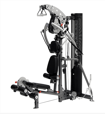 The Inspire Fitness M3 Home Gym delivers a space saving design with all the features you would expect from a much more expensive model.