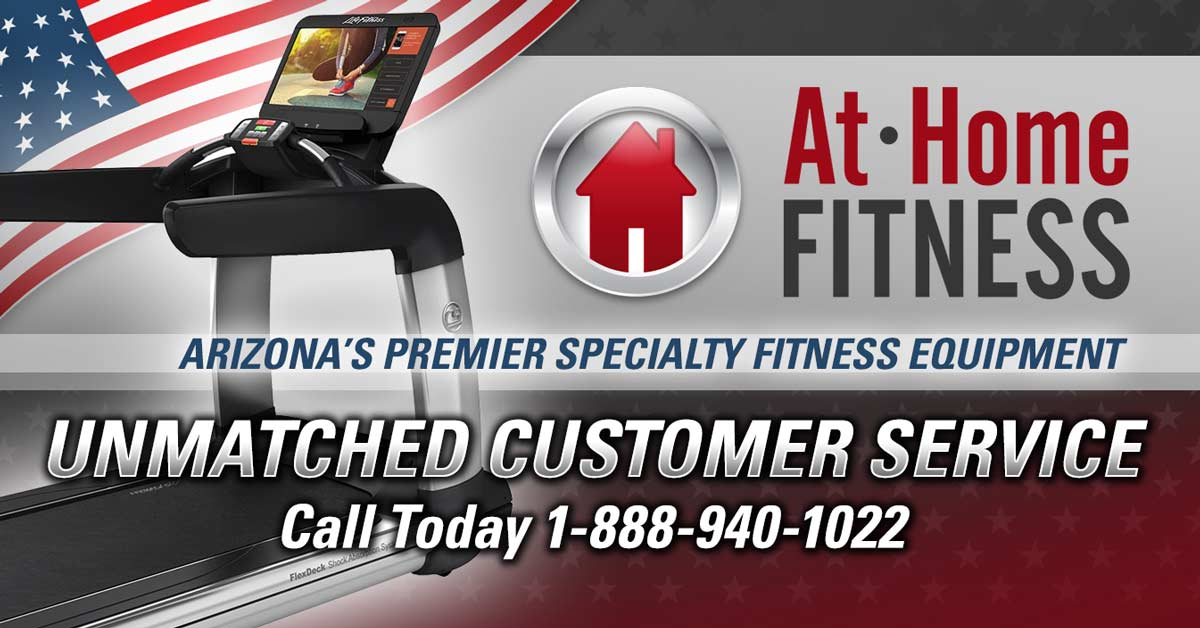 At Home Fitness customer service is unmatched in specialty fitness equipment industry