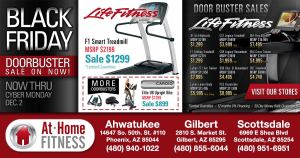 """At Home Fitness """"Black Friday Sale"""" on now through December 2"""