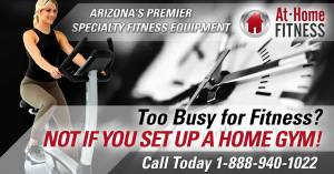 Too Busy For Fitness? Not If You Set Up A Home Gym