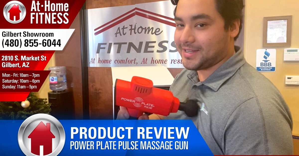Introducing the Power Plate Pulse Massage Gun