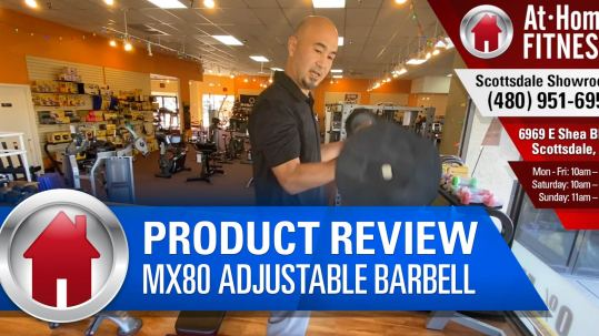 MX80 Adjustable Barbell - At Home Fitness Scottsdale
