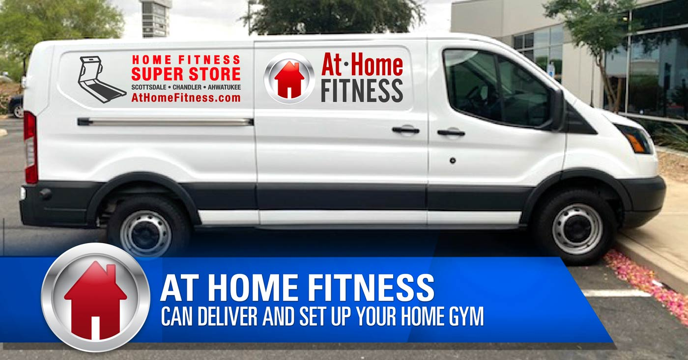 During this uncertain time, let At Home Fitness Superstore deliver and set up your home gym