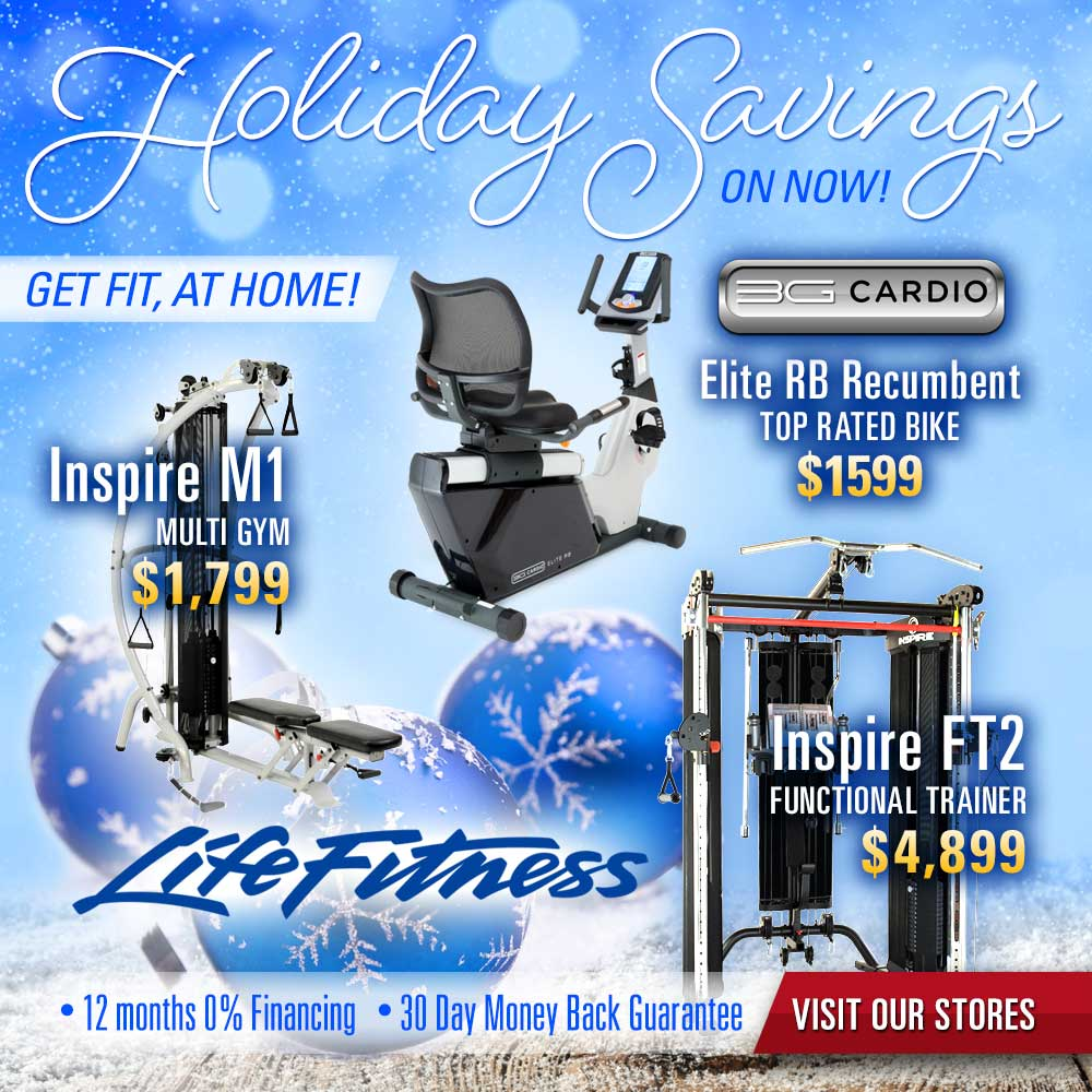 Holiday Savings All Month Long At At Home Fitness