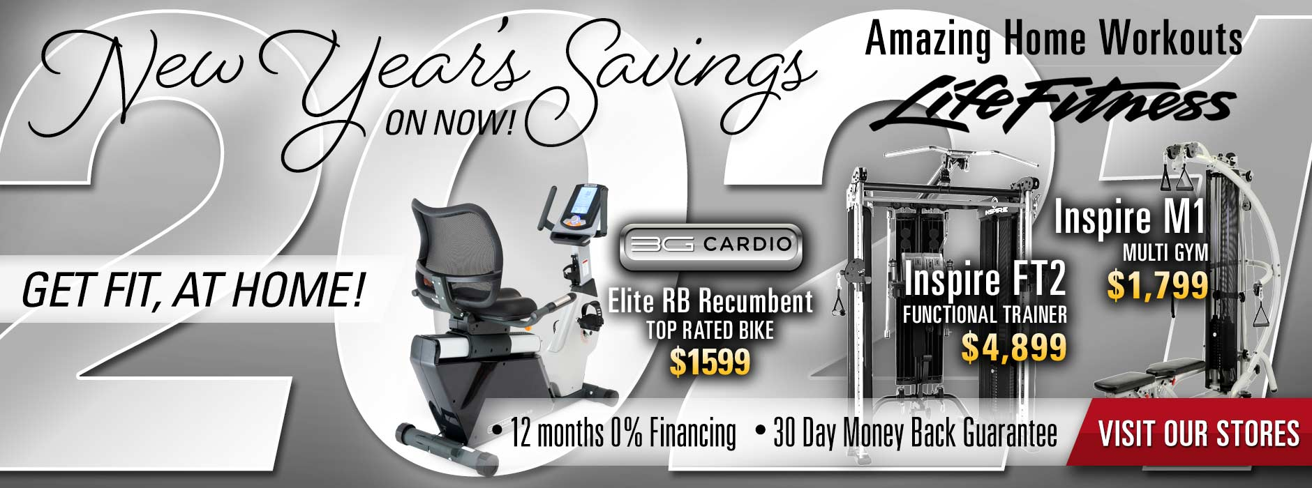 New Years Savings All Month Long At At Home Fitness